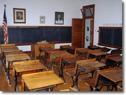 classroom at Clemenceau
